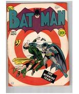 Batman 7 F/VF to VF- Appearance Minor Prof Restoration Joker 1941 - $3,295.00