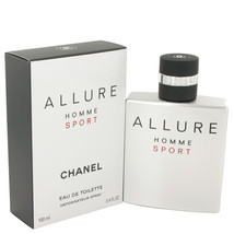 Chanel Allure Homme Sport Cologne 3.4 Oz Eau De Toilette Spray  image 5