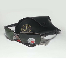 Ray-Ban Polarized Men Sunglasses Sport Wrap RB 3478 With Carry Case  - $198.85