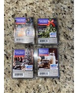 Lot of 4 Better Homes & Gardens Scented Wax Cubes Holiday Scents Limited Ed - $15.83