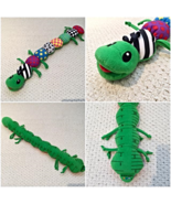 Lamaze Learning Curve Inchworm Plush Green Caterpillar Inch Worm - $9.90