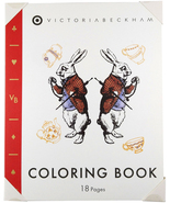 Lewis Carroll Book Alice in Wonderland Coloring Book by Victoria Beckham... - $8.45