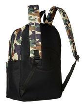 Champion Men's Manuscript Canvas School Backpack Shoulder Zipper Book Bag image 3