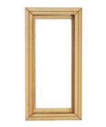 DOLLHOUSE MINIATURE CASEMENT 1-PANE WINDOW #AM0403CW - $15.99