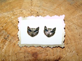 """VINTAGE """"KITTY KAT"""" FACES EARRINGS (Where Did Y... - $5.00"""