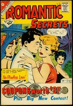 Romantic Secrets #32 1961- Charlton Romance comic- FN - $37.83