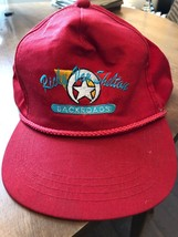 VINTAGE BASEBALL HAT CAP   RICKY VAN SHELTON BACKROADS ADJUSTABLE SNAP C... - $27.31