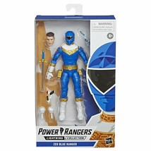 Power Rangers Lightning Collection 6-Inch Zeo Blue Ranger Collectible Ac... - $18.79