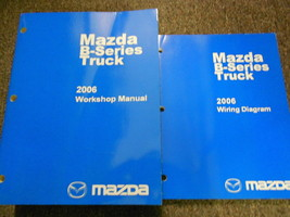 2006 Mazda B-Series Truck Service Repair Shop Workshop Manual Set W EWD OEM - $44.51