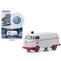 1964 Volkswagen Panel Van Ambulance White Club Vee V-Dub Series 9 1/64 D... - $5.30