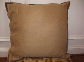 Ralph Lauren VERDONNET BASKETWEAVE Deco Pillow NWT - $71.20