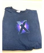 Apple T Shirt Mens - Size Large - Mac Os X Snow Leopard - Black - $19.75