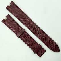 Cartier Authentic 16mm Burgundy Leather Strap for Buckle 0H100DAB - $299.00