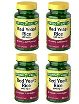 Spring Valley Red Yeast Rice Herbal Supplement, 600 mg Per Capsule X 2 Capsules= - $26.40