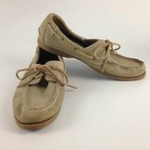 Nunn Bush NXXT Men's Tan Nubuck Suede Boat Shoes Size 11 - $37.39