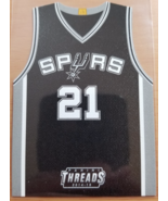 Tim Duncan 2014-15 Panini Threads Team Threads #43 NBA Spurs Insert card - $8.00