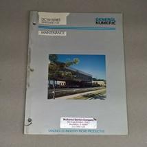 GENERAL NUMERIC DC M SERIES MAINTENANCE MANUAL GN53265E/03  - $95.00