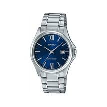 Casio Men's MTP-1404D-2A2  Dress Casual Steel Blue Dial 3-Hand Analog Wa... - $39.40