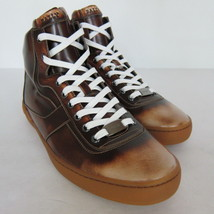 US 8D HiTop Cuir Size Sneaker Brushed New Shoes 2281151 Bally Eroy S 582 0wPq71PX