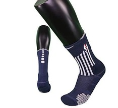NBA Authentics Nike Detroit Pistons Basketball Team Issued Crew Socks Ci... - $34.60