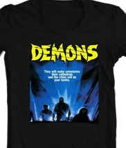 Demons movie T-shirt Demoni Italian vintage classic horror Poster graphic tee  image 2