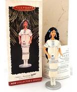 Hallmark 1996 Keepsake Ornament Dolls Of The World Native American Barbi... - $6.93