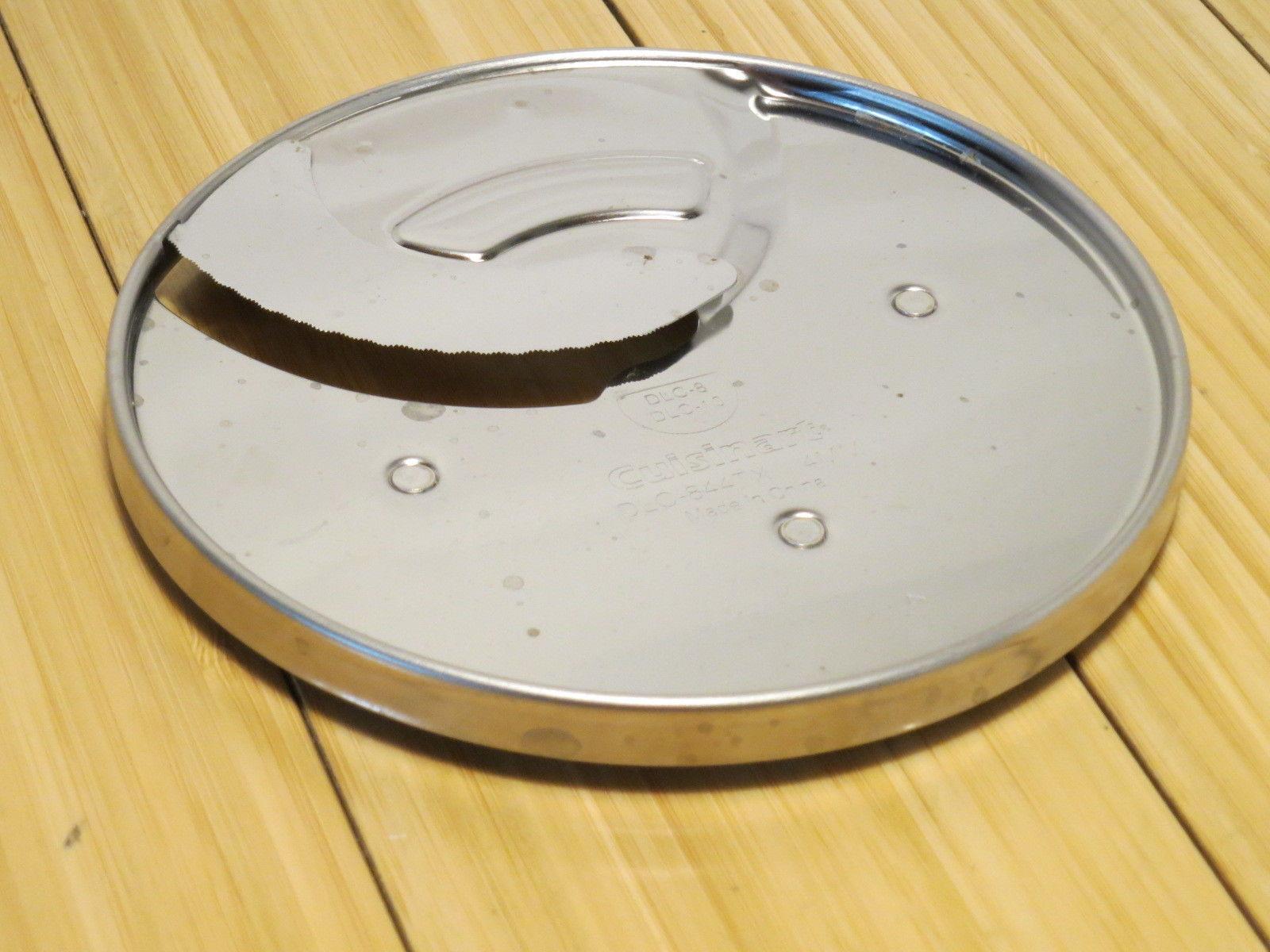 4 mm slicing Medium Shred DLC-10  Food Processor Discs TWO Cuisinart DLC-8