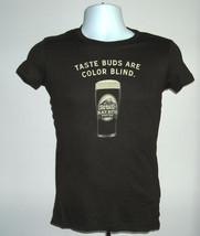Womens Juniors Deschutes Brewery T Shirt Medium Color Blind Taste Buds Porter - $18.76
