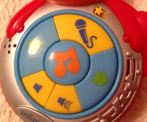 Infantino Monkey Pod - 5 Fun Songs or Record Your Own Vocie, Hard to Find