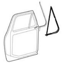 1973-79 FORD F SERIES & 78-79 BRONCO VENT WINDOW WEATHERSTRIP SEAL KIT 2... - $138.55