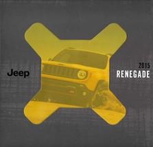 2015 Jeep RENEGADE brochure catalog US 15 Limited Trailhawk Latitude Sport - $8.00