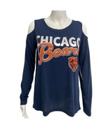 NFL Team Apparel Chicago Bears Open Shoulder Long Sleeve Size S (B-3C) - $25.64