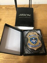 CW Arrow Starling Metro Police Badge/Insigne - DC Collectibles - TV Show... - $79.00