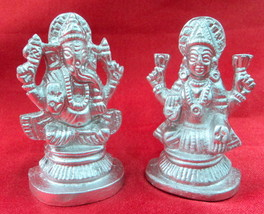 Divine Pair Of Laxmi Ganesha In Parad - $64.35