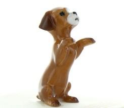Hagen Renaker Dog Puppy Begging Ceramic Figurine