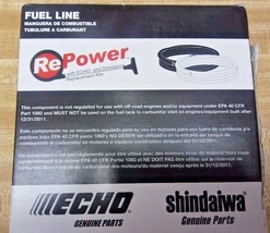 90014 Genuine ECHO FUEL LINE 25 FOOT ROLL 3mm X 5mm for SMALL ENGINES - $27.99