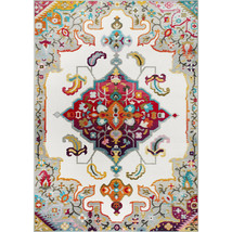 Traditional Transitional Oriental Medallion Area Rug **FREE SHIPPING** - $159.50