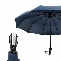 Automatic Umbrella Women Luxury Windproof Waterproof Folding Outdoor Rai... - $26.99
