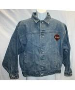 Boys's HARLEY DAVIDSON Born to Rida Denim Jean Jacket With Logo Patch Sz... - $49.50