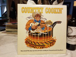 COUNTRY COOKIN' LP VINYL RECORD - $15.00