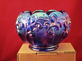 Blue Fenton Bowl - $47.50