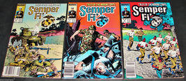 3 1989 Marvel SEMPER FI 6 F, 7 VG, 8 F Comic Books Tales of the Marine Corps - $12.99