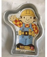 Wilton Cake Pan Bob the Builder with Instructions Paper Insert 2002 Chil... - $19.79