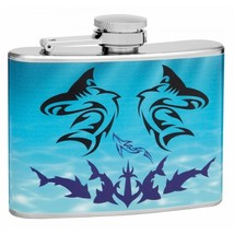 Shark 4 oz Hip Flask - $7.98