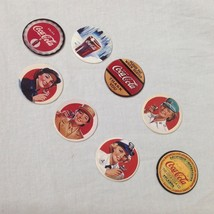 Coca-Cola Collect A Card Coke Cap Series Two Complete Set 8 Pogs Trading... - $7.91