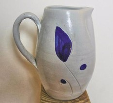 "Williamsburg Pottery Vintage Stoneware Pitcher with Salt Glaze 6"" - $16.00"