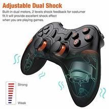 BEBONCOOL Wireless Controller for Nintendo Switch Remote Pro Controller Orange A image 4