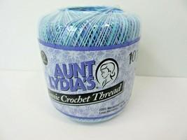 Aunt Lydia's Classic Crochet Thread 0995 Ocean 300 Yards Size 10 - ₹191.51 INR