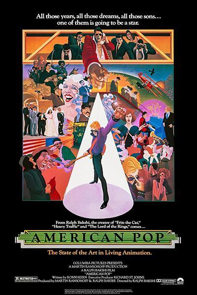 Primary image for American Pop - 1981 - Movie Poster