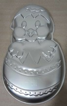 Wilton Chick-in-Egg Easter Aluminum Cake Pan 2105-2356 Holiday 1985 - $27.93